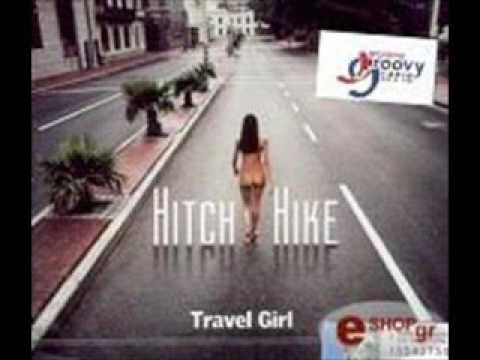 Hitch Hike - Travel girl