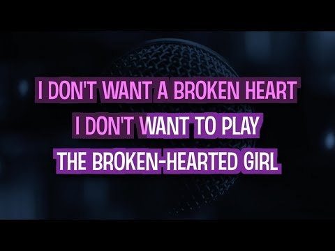 Beyonce - Broken - hearted girl (минус)