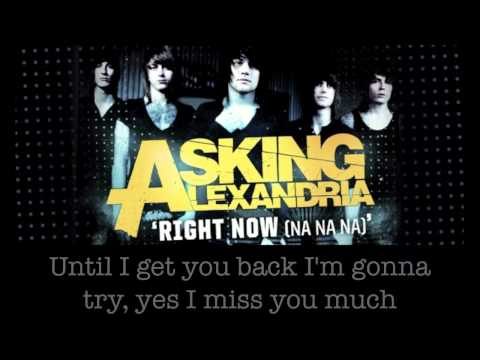 Asking Alexandria - Right Now (Na Na Na) (Akon Cover)
